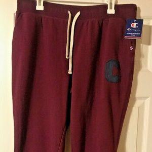 Champion Heritage Fleece Athletic Jogging Pants